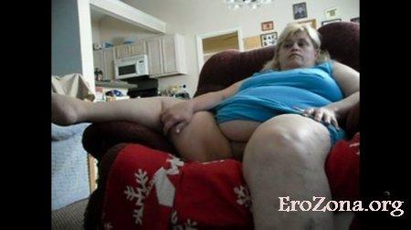 Удовлетворение жирной супруги